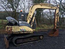 Sumitomo SH60 JCB Js70 Digger Excavator Dismantling !!! hydraulic Pump !!!