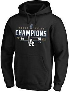 MLB Los Angels Dodgers Hoody World Series Champions 2020 Loose Room Sweater
