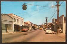 WA Oak Harbor- Town View- Old Cars Bakery Street Light- Chrome  PC F3