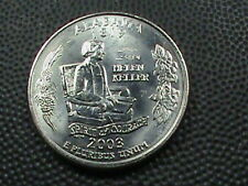 UNITED STATES   25 Cents    2003 D   UNC   ALABAMA