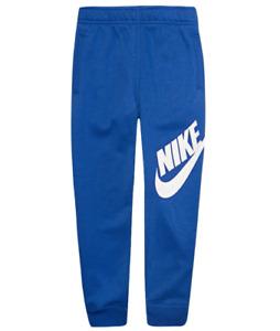 Nike Sweatpants Little Boys 4 XS Authentic Futura Cotton Cuff Bottom Royal Blue