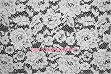 "HB154 57*36"", Lace Fabric Embroidery Floral Wedding Fabric dress skirt sewing"