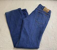 Genuine Roebucks Vintage Blue Jeans Medium Wash Straight Leg Men Size 34x32