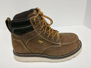 """Keen Utility Cincinnati 6"""" Soft Toe Work Boots, Brown, Men's 10 Wide"""