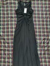 Isabella Oliver Black Maternity Dress Long Formal Maxi Dress Size 4 US 10 UK14