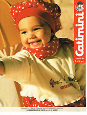PUBLICITE ADVERTISING 114  1994  CATIMINI  vetements enfants bébé