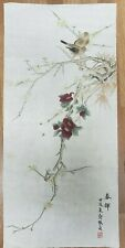 CHINESE WATERCOLOR PAINTING {Bird,Bee&Flower}