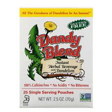 Dandy Blend Instant Herbal Beverage Dandelion Caffeine Free, 25 Single pack