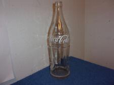 VINTAGE COCA-COLA CLEAR GLASS 26 oz SODA....RARE