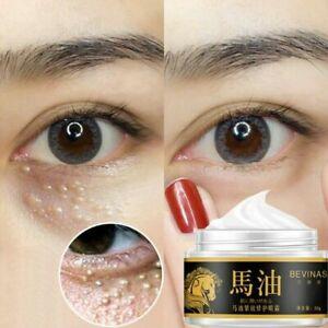 Horse Oil Eye Cream Anti-Aging Wrinkle Moisturizer Firming Nourish Remove Dark