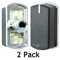 2 x Genuine BELLING BI70GS FSDF60DO 444449566 Hob Oven Cooker Knob Black Switch