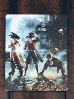Jump Force Video Game Collector's Edition Steelbook Case (Case Only, NO GAME)