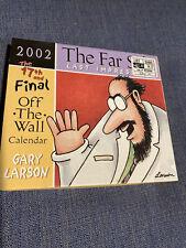 Far Side Off The wall Calendar 2002