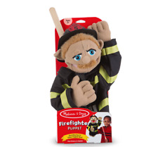 Melissa and Doug Firefighter Puppet - 40352 - NEW!