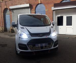 Ford Transit Custom 2012-on Pair Bulbs H7 LED Headlight Low Beam 90W 6000K White