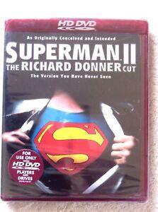 76150 HD DVD - Superman II The Richard Donner Cut [NEW / SEALED]  2006  81012