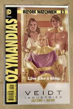 BEFORE WATCHMEN OZYMANDIAS #2 VARIANT COVER 1ST PRINT DC COMICS (2012)