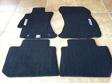 Subaru Imreza Spt New Factory Charcoal Black Carpet Floor Mats OEM set Car