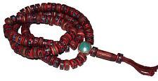 Tibetan Prayer beads Gypsy Necklace Yoga Necklace Mala Necklace Tribal Necklace