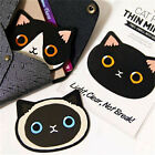 Women Fashion Portable Pocket Cosmetic One Side Kitty Cat Mini Makeup Mirror OZ