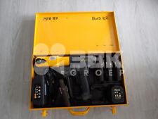 Rems Akku Press 14,4V li-ion Pressmaschine Presszange 4x Mapress Pressbacken