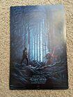 Star Wars The Force Awakens Dan Mumford IMAX Poster - Forest Battle