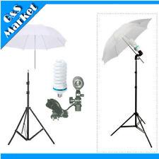 """Studio Kit 195cm Light Stand +33"""" Umbrella+150w 220v Bulb+E27 Socket Lamp Holder"""