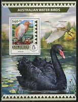 White Ibis Birds Vögel Animals Fauna Solomon Islands Mnh Stamp Set Topical Stamps Animal Kingdom