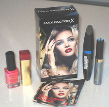 Max Factor X Show Stopping Glamour Make Up 4 Items In Box OPENED Never Used