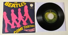 """RARE 7"""" APPLE EMI ITALY 1969 THE BEATLES COME TOGETHER / SOMETHING QMSP 16461"""