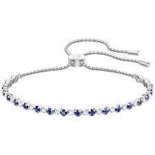 Swarovski 5465383 Subtle Bracelet, Blue, Rhodium Plating  RRP$129