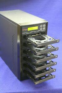Best Duplicator 6 Disc DVD-CD Burner Multi Disc Recorder WriteMaster