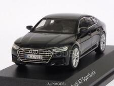 Audi A7 Sportback 2017 Myth Black Audi Promo 1:43 I-SCALE 5011707032