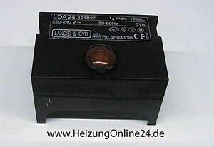 Brötje Feuerungsautomat 937283 L&G LOA 24 171 B27