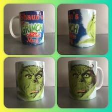 personalised mug cup the grinch who stole christmas secret santa gift present :)