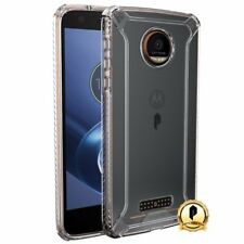 For Moto Z Force/ Moto Z Force Droid TPU Bumper Slim Shockproof Cover Case Clear