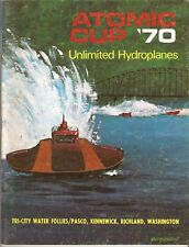 1970 Atomic Cup Tri-City Water Follies Hydroplane Race Program