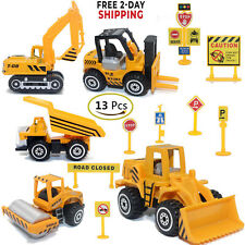 Construction Toys Set, Excavator Toy Vehicles, Dump Truck Road Cars Toys
