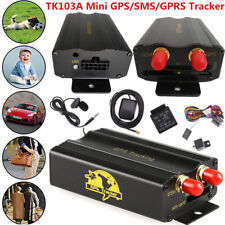GPRS GSM SMS Vehicle Car GPS Tracker TK103A Tracking Device Alarm System For Car