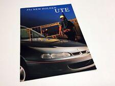 1995 Holden Ute Brochure - Australia