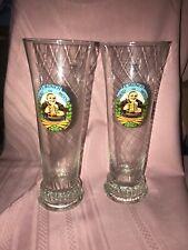 Pair E Munch Brau Im Moos Sqhm 0,51 Beer Glasses