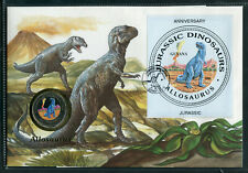Guyana Dinosaurier Numisbrief mit Farbmünze ..............................2/5504