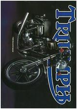 Sales brochure original Prospekt Triumph 1979 t140d t140r tr7v Joli Cadeau