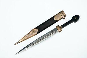 Caucasian kindjal Cossack knife Russian empire Plastun Dagger Shashka shamshir