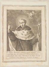 VERO RITRATTO DEL BEATO ANGELO MAZZINGHI FIORENTINO FIRENZE FLORENCE FINE 1700