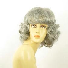 Parrucca donna ricci semi lunga grigio   vanda 51 f50c74108a8b