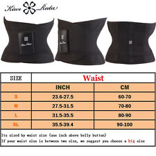 Men&Women Hot Power Slimming Belt Body Shaper Waist Training Corset Fat Burning