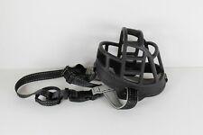Dog Muzzle Soft flexible Basket Rubber for Dogs Large Size: 4 Black
