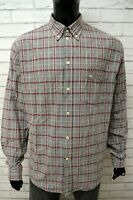 Camicia Uomo MURPHY & NYE Taglia Size XXL Slim Maglia Grigio Shirt Man Chemise