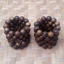 Lot 10 Pcs Aetoxylon Agarwood Bracelet 20 MM Gaharu Buaya 12 Bead Aloeswood